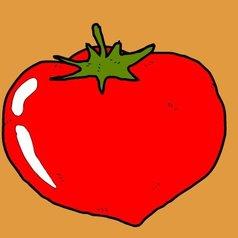 给西红柿涂色